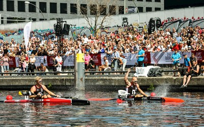 Wildwasser rafting berlin