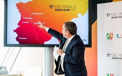 Armin Laschet präsentiert die Finals Rhein-Ruhr 2020